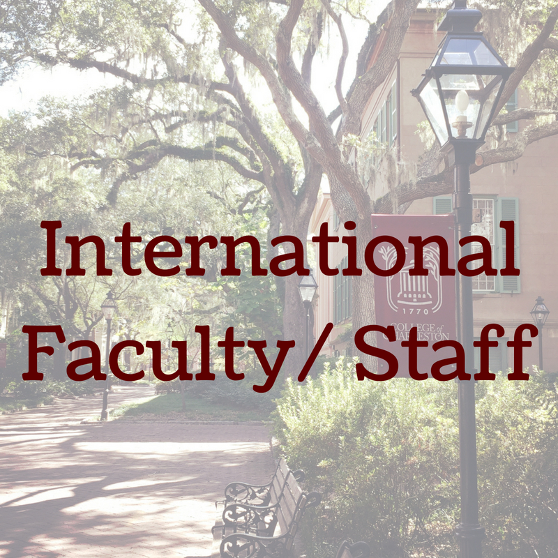 International Faculty and Staff Information